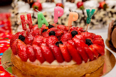 Strawberry Birthday Cake Pictures Strawberry Birthday Cake