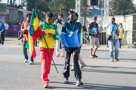 haile: The 13th Edition Ethiopian Great Run, the biggest road race in Africa, and the winner of the inaugural AIMS Social Award, with over 37,000 runners 24 Nov 2013 Addis Ababa, Ethiopia