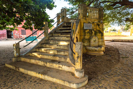 One of the highlights of the tour to Gorée Island is this Band-stand which was originally built in 1881