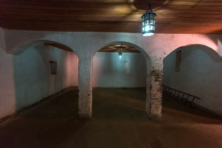 Women slaves who were identified as non-virgins were placed in this cell, where it is believed that forced slave breeding took place.