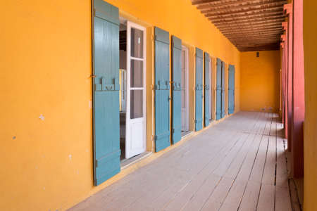 First floor of the traders quarters in the House of slaves on Gorée Island