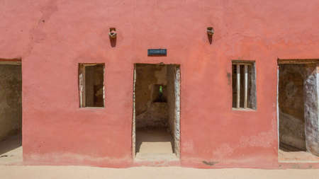Entrance to the cells were men slaves who weighed more than 60 kilograms were kept in the house of slaves on Gorée Island