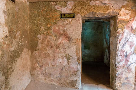 Entrances to the cells where male slaves who weighed less than 60 kilograms, deemed temporarily unfit, were kept in the house of slaves on Gorée Island