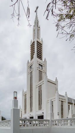 The exterior of the Cathedral of Our Lady of the Immaculate Conception in Maputo, Mozambique Reklamní fotografie