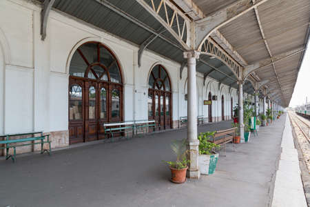 steam locomotives: Maputo Railway Station is one of the top ten tourist attractions featuring several historic steam locomotives. Nov 27, 2014 Maputo, Mozambique Editorial