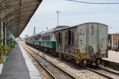 steam locomotives: Maputo Railway Station is one of the top ten tourist attractions featuring several historic steam locomotives in Maputo