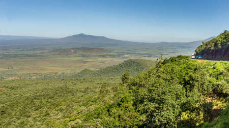 rift: View of the Great Rift Valley from a viewpoint in Kenya