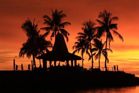 shangrila: Sabah Shangri-La hotel sunset view