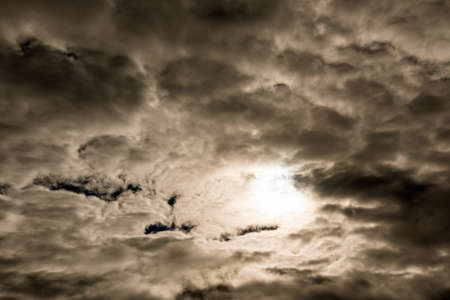 solar eclipse: Foreboding black sky during solar eclipse