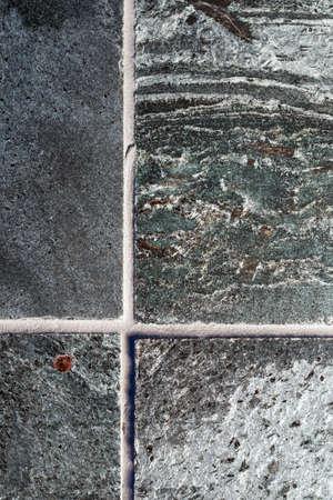 quartzite: Polished quartzite tile flooring