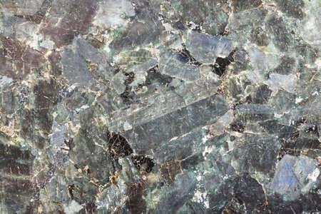Closeup of polished natural stone, granite, marble Standard-Bild
