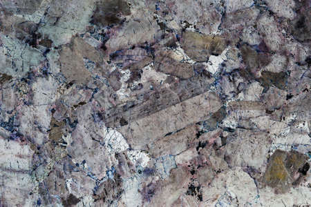 Colorful abstract made from polished stone surface