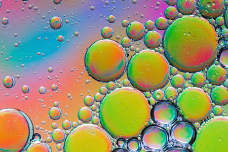 Colorful psychedelic abstract Standard-Bild