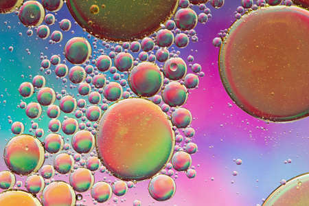 Multicolored psychedelic abstract Standard-Bild