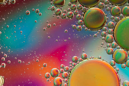 Vivid psychedelic abstract