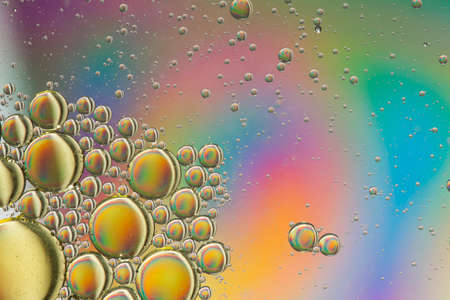 Rainbow psychedelic abstract Stock Photo