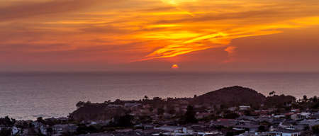 orange county: Emerald Bay, Orange County Sunset