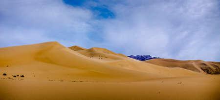 eureka: Eureka Dunes with Clouds