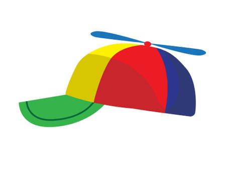 Propeller cap illustration