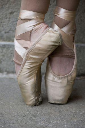 ballet: Pies de ballet Foto de archivo