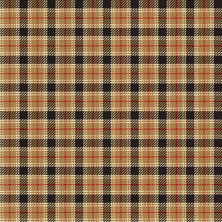 Check plaid graphic pattern background. Vector graphic for scarf, blanket, throw, shirt other fashion textile design. Plaid pattern in dark brown, brown, and white color