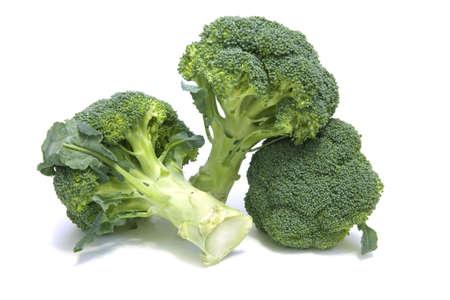 Broccoli floret Stock Photo