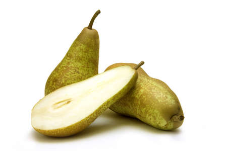 fresh slice pear