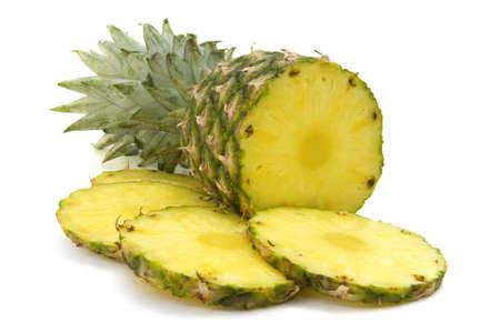 fresh slice pineapple Stock Photo