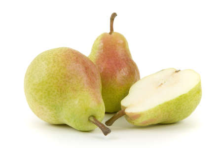 pear: Pears isolated on white background