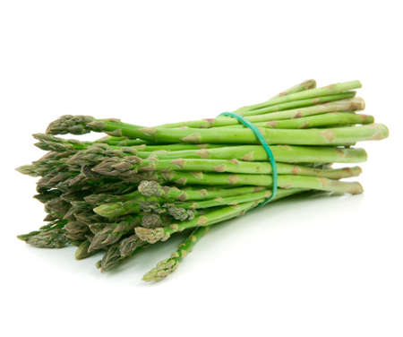 asparagus isolated on white