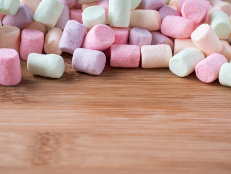 colorful marshmallows candy Stock Photo