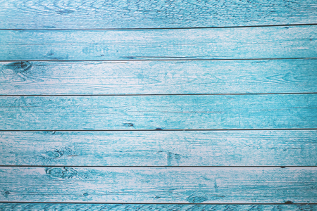 Wood texture painted in blue Wallpaper background