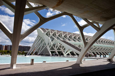 Valencia, Spain. April 8, 2012. Museum in the City of Arts and Sciences