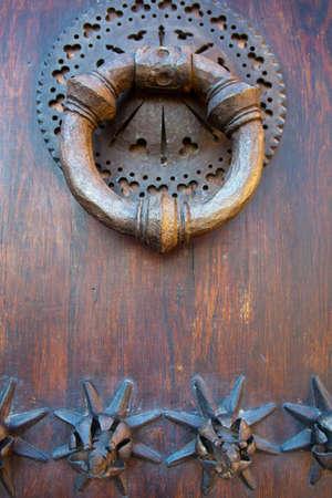 Old metal knocker Stock Photo - 16424246