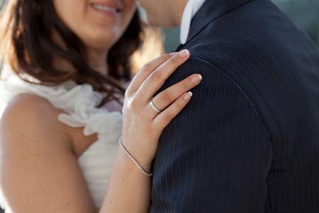 copule: Newly maride copule