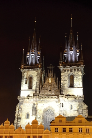 Prague at Night, Czech republic photo
