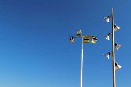Photo of City Lamp, Spain made in the late Summer time in Spain, 2013 Stock Photo - 22756020
