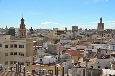 Photo of City of Valencia, Spain made in the late Summer time in Spain, 2013 photo