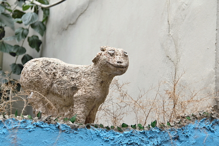 Photo of Statue of Lamb made in the late Summer time in Spain, 2013