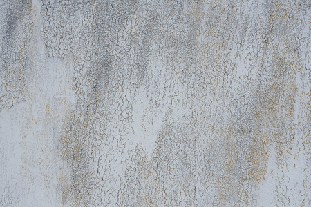 worn structure: Detail of the old painted metal surface with clear surface structure, background