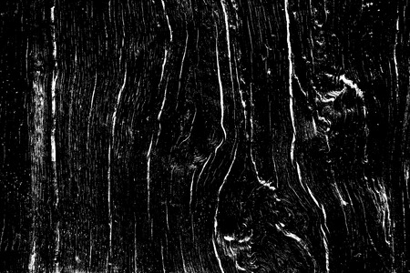 Oak wood texture with texture filled with cracks and knots, design wooden background for overlay, black color