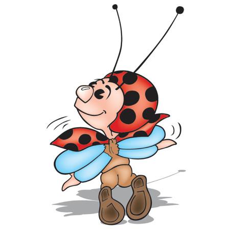 amiable: Ladybird 09 Illustration