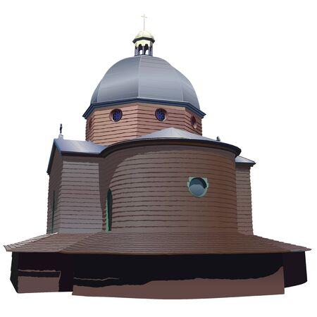 tabernacle: Church Roznov pod Radhostem (Europe) Stock Photo