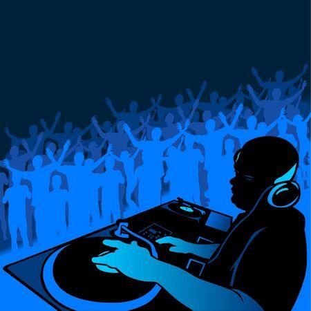 DJ music photo