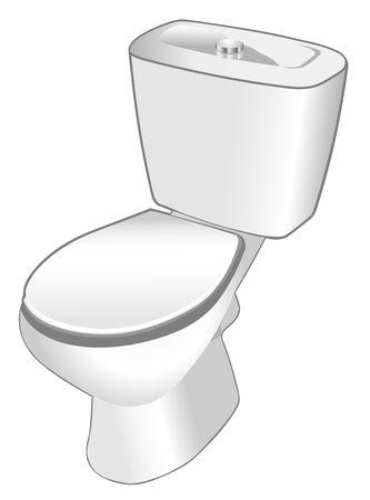 watercloset: Toilet Stock Photo