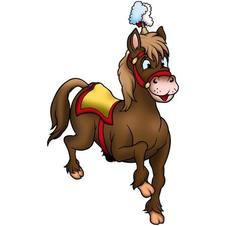 manege: Horse 02 circus