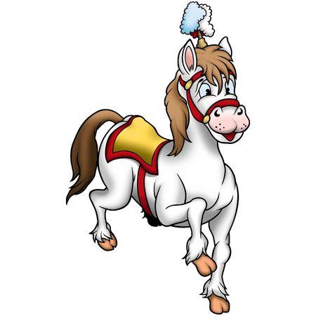 Horse 03 circus Stock Photo - 660796