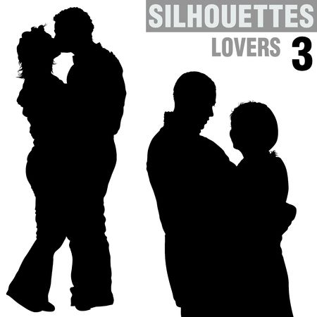 amorous: Lovers 03 - silhouettes