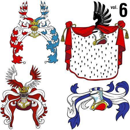 Heraldic Helmets vol.6