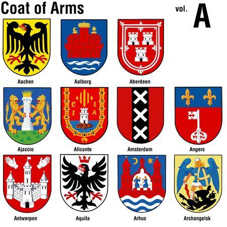 ajaccio: Coat of Arms ( A )